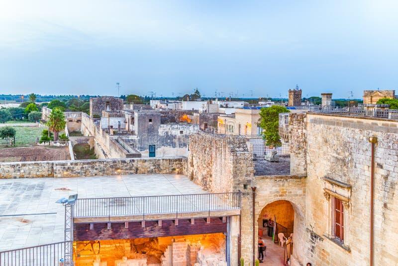 raster av gator av den stärkte citadellen arkivfoto
