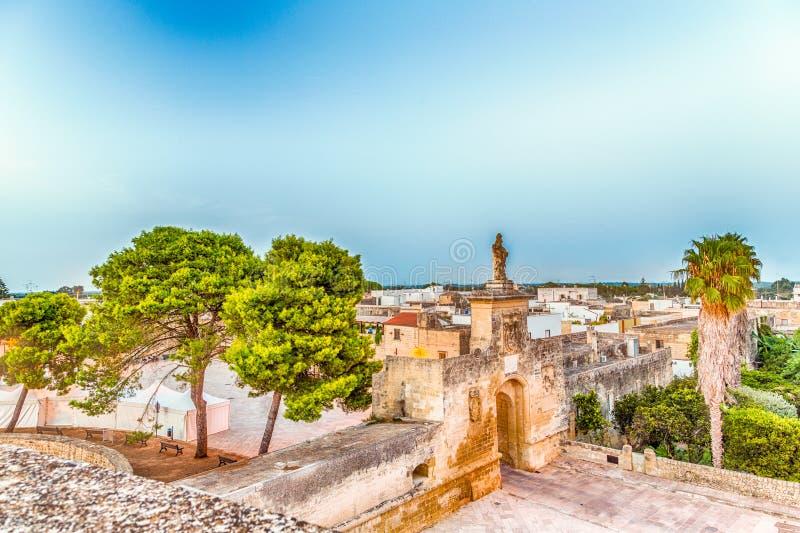 raster av gator av den stärkte citadellen arkivfoton