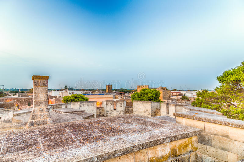 raster av gator av den stärkte citadellen royaltyfri foto