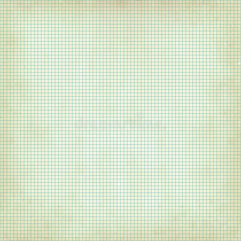 Raster för grafpapper med grungetextur arkivfoton