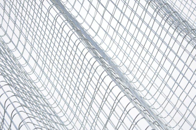 Raster för ståltråd fotografering för bildbyråer