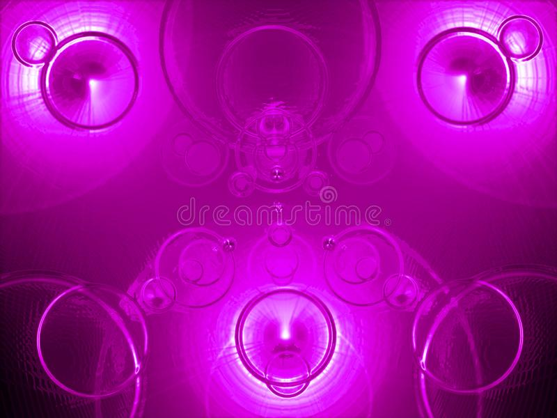 Cosmic Purple Background, Applicable When Creating Compositions And Collages. Raster image, Fiery abstraction, mysterious, fantastic pink light, applicable for stock illustration