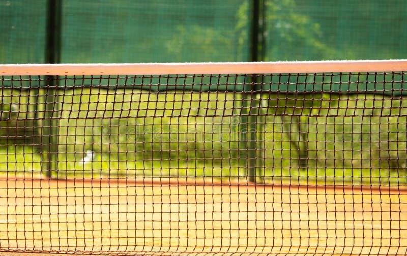 Raster på tennisbanan som en bakgrund royaltyfri fotografi