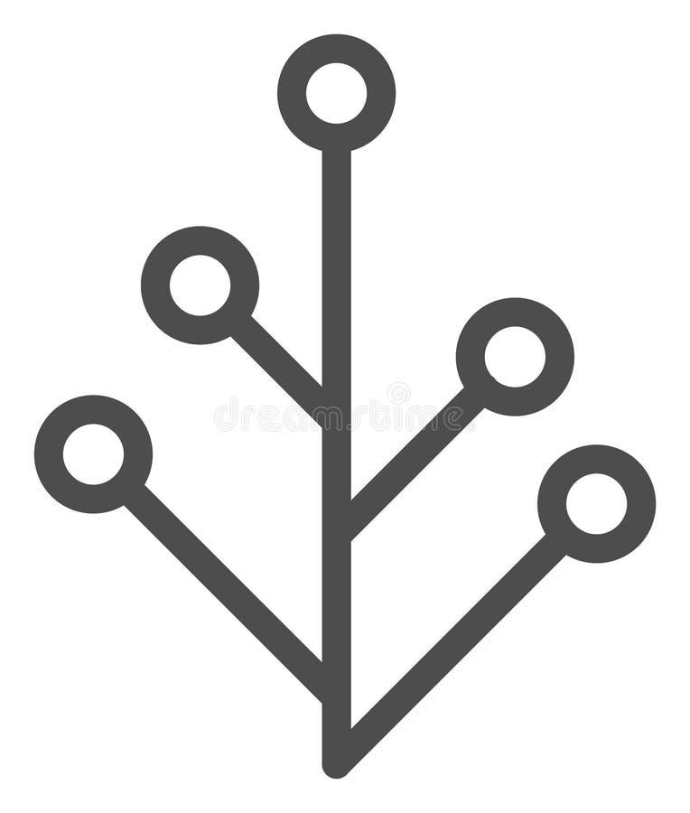 Raster Flat Plant V2 Icon vector illustration