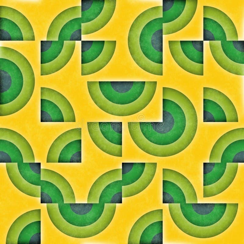 Download Raster Sömlösa Geometriska Patttern Stock Illustrationer - Illustration av fyrkant, dekorativt: 76701001