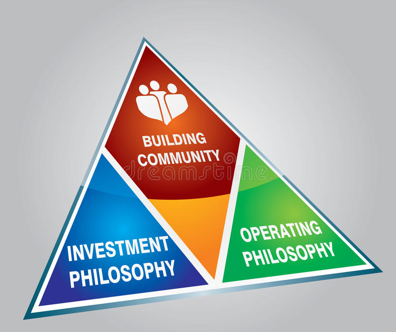 Raster version - Future construction strategy. Raster version - Funds for future construction strategy concept stock illustration