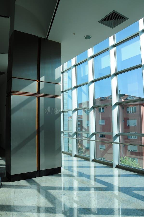 Raster Windows och stiliserad kolonn royaltyfria foton