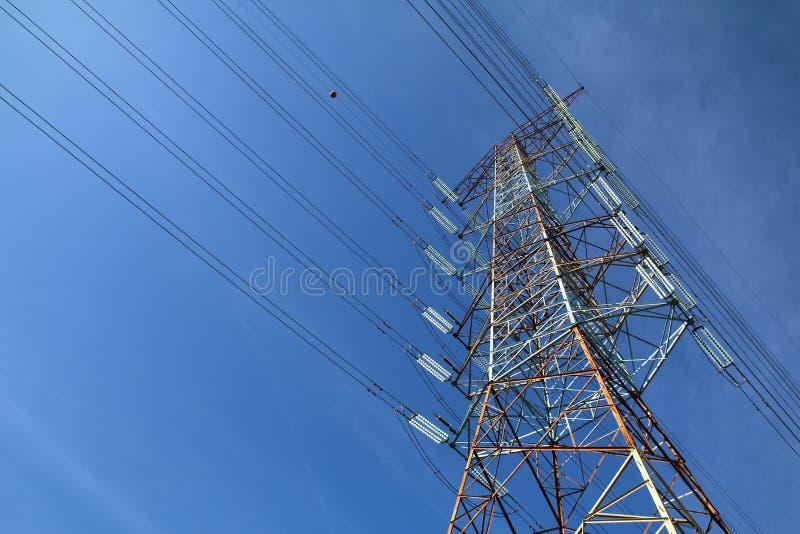 Rasterelektricitetstorn - serie 5 royaltyfri fotografi