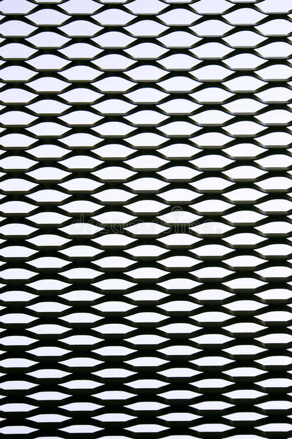 Rasterfeld des Metalls lizenzfreies stockfoto