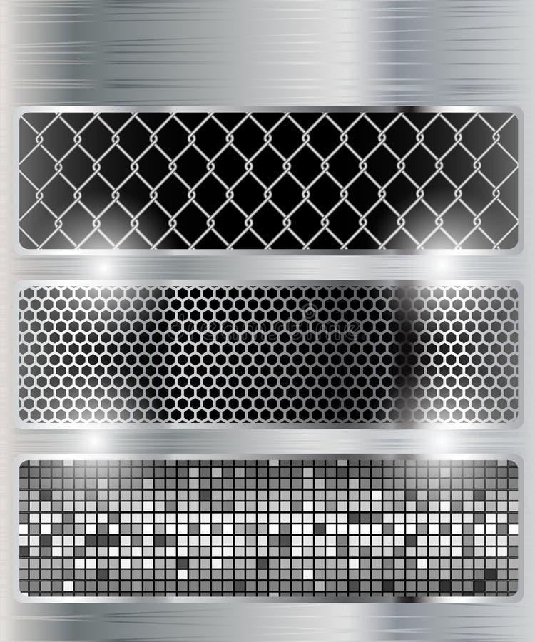 Rasterfeld, Mosaik lizenzfreie abbildung