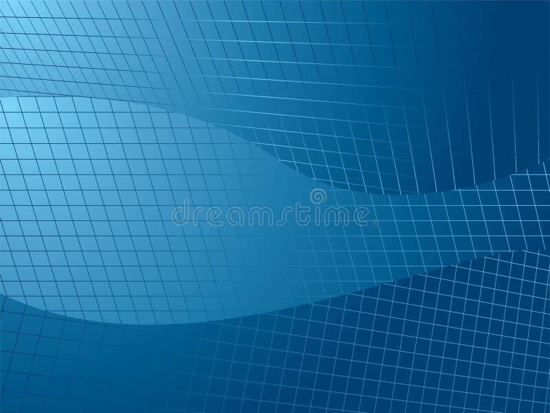 Rasterfeldrichtung vektor abbildung