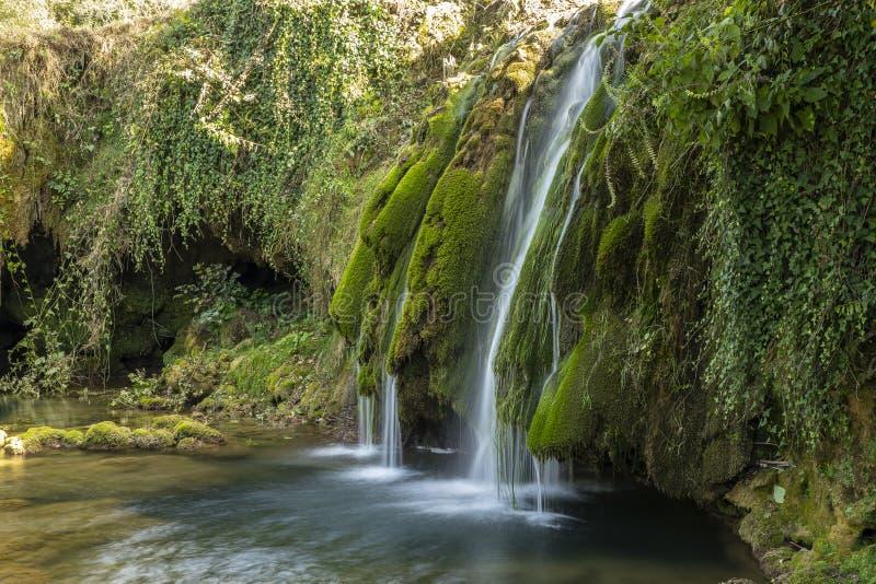 Rastoke Kroatien fotografering för bildbyråer