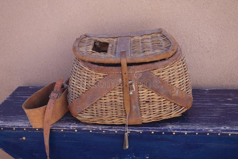 Rastrelliera di pesca fotografia stock