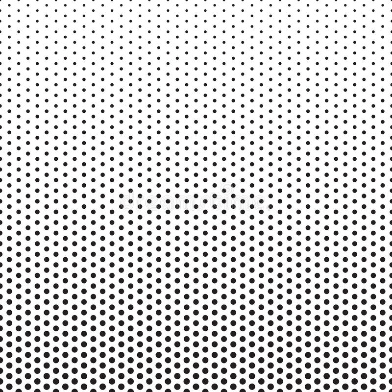 Rastrerade Dots Pattern Gradient Background stock illustrationer