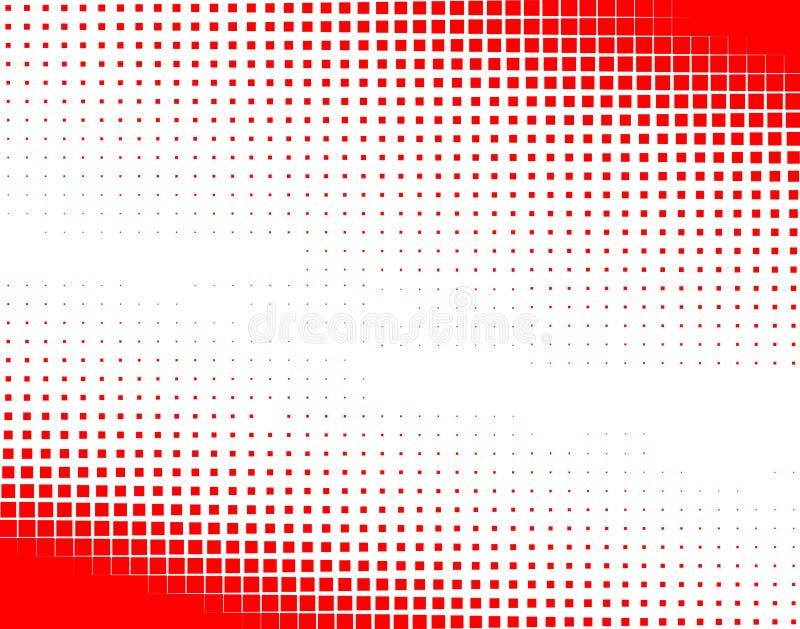 rastrerade fyrkanter stock illustrationer