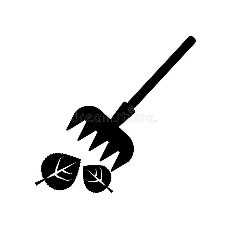 Rastrille el vector del icono aislado en el fondo blanco, concepto del logotipo de R stock de ilustración