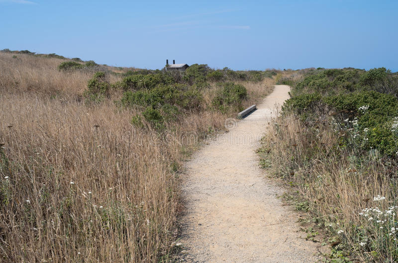 Rastro costero de la pradera el al frente del Bodega imágenes de archivo libres de regalías
