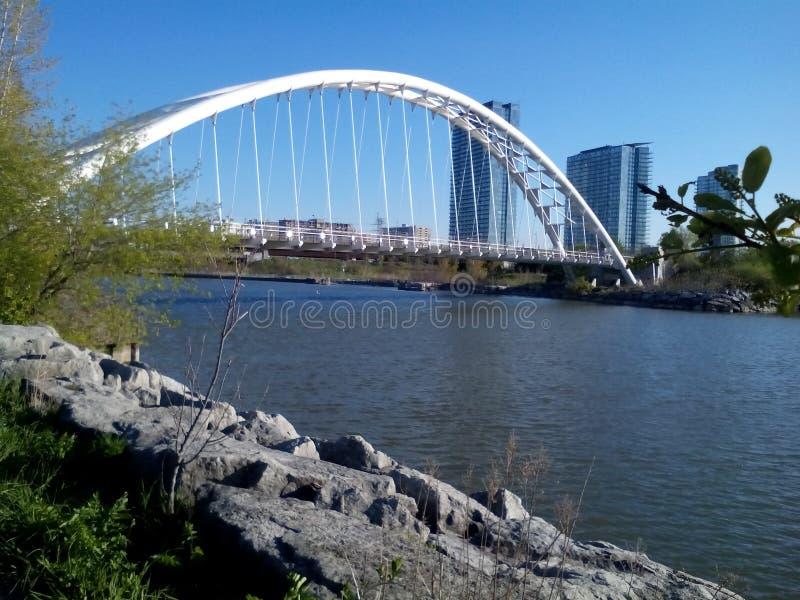 Rastro de la bicicleta de la costa de Toronto imagenes de archivo