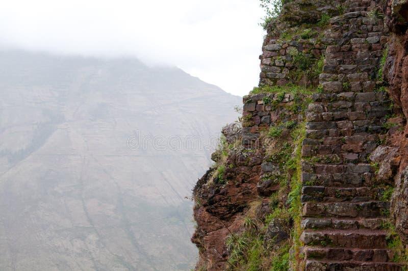 Rastro de los incas, Perú foto de archivo