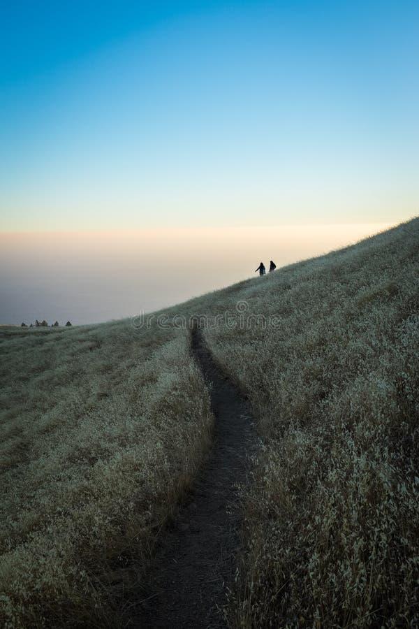 Rastro de montaña de Tamalpais fotos de archivo