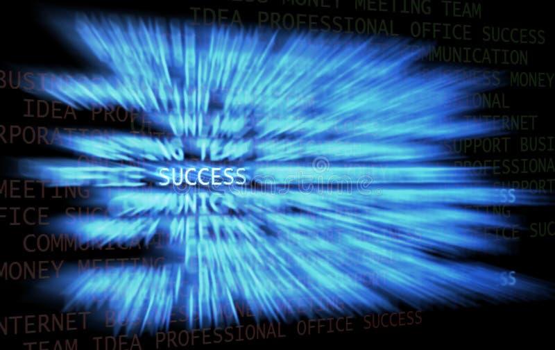 Rastro del éxito ilustración del vector