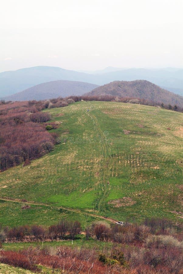 Rastro del Appalachia fotografía de archivo libre de regalías