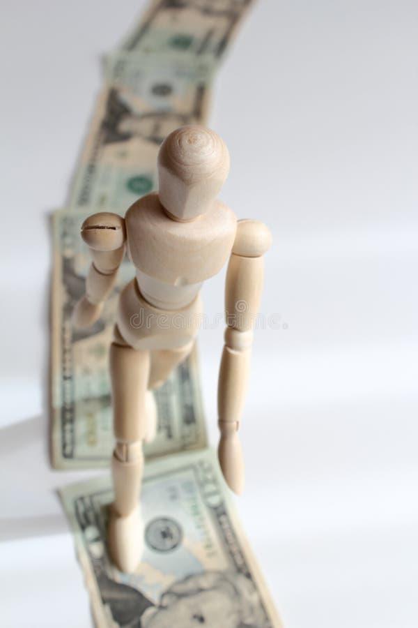 Rastro del dinero fotos de archivo libres de regalías