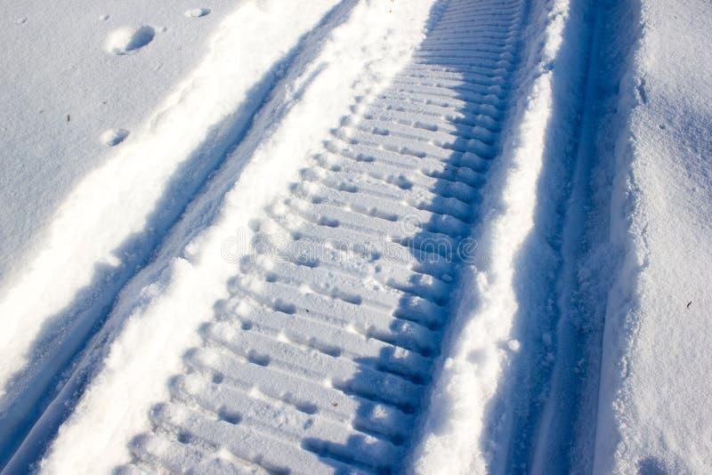 Rastro del invierno imágenes de archivo libres de regalías