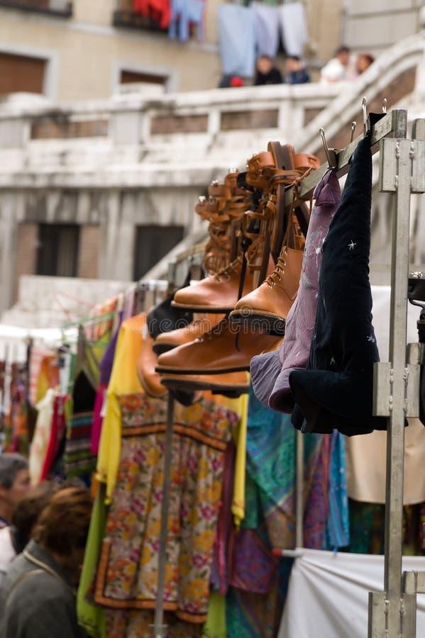 Download Rastro, Freier Markt In Madrid Stockfoto - Bild von spanien, carlos: 851542