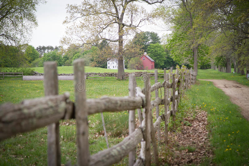 Rastro a la granja fotos de archivo libres de regalías