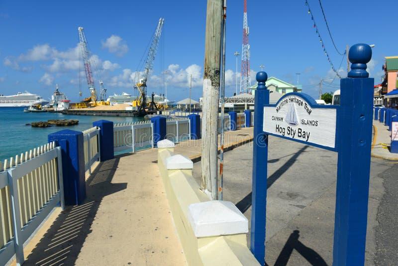 Rastro marítimo de la herencia, Islas Caimán imagenes de archivo