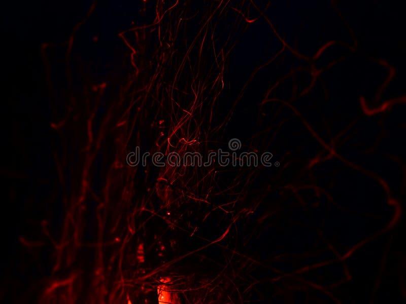 Rastros de fuego fotos de archivo libres de regalías