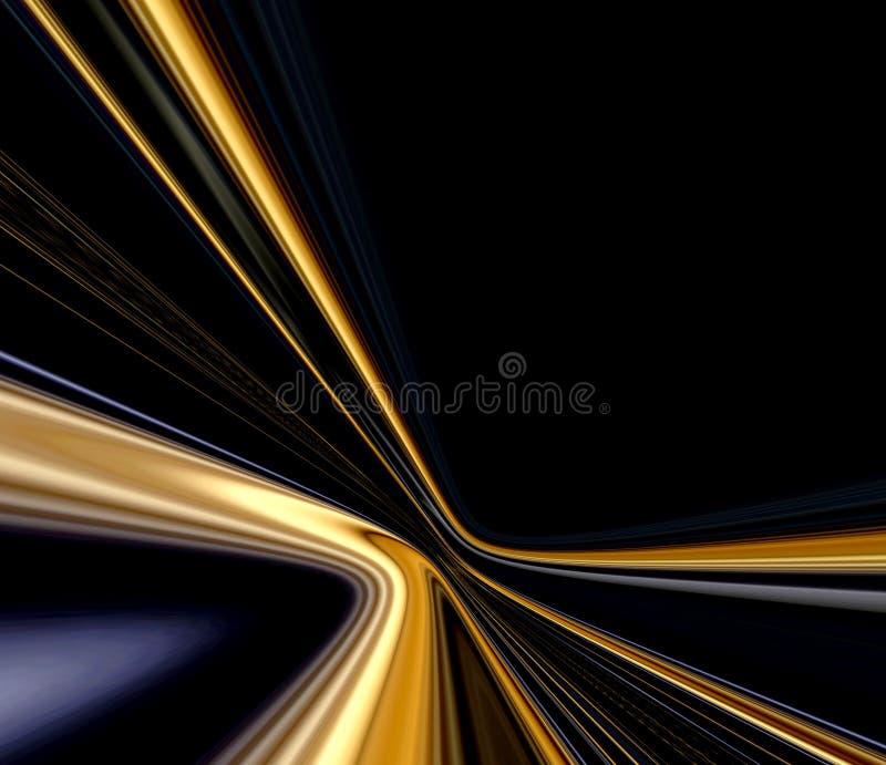 Rastros de la velocidad ilustración del vector