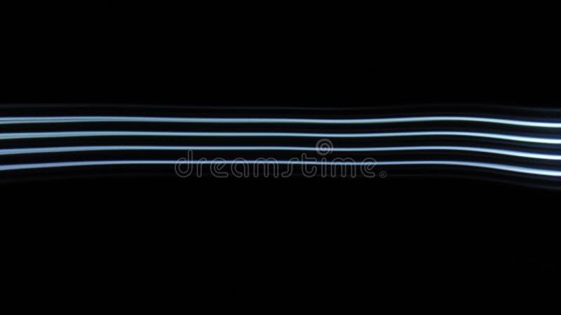 Rastros rayados de la luz fotografía de archivo libre de regalías