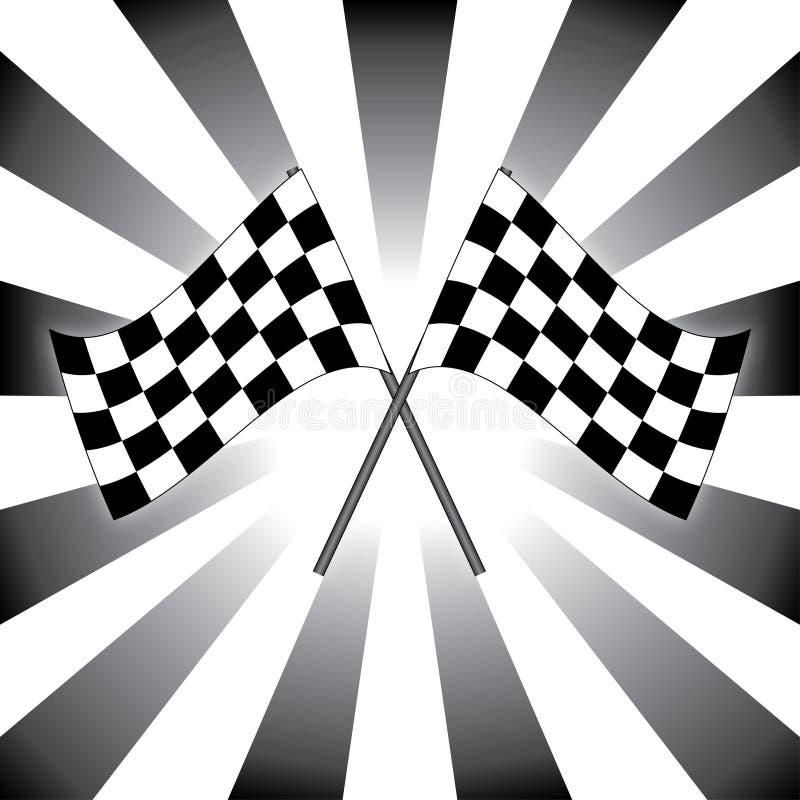 Rasvlaggen stock afbeeldingen