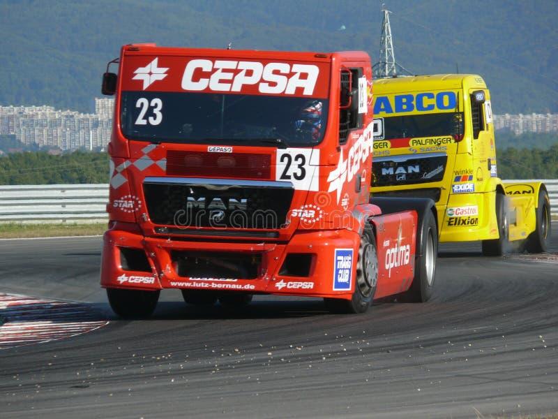 rasy ciężarówka obrazy stock