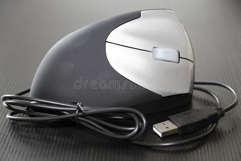 Ratón óptico de 3 D imagen de archivo libre de regalías