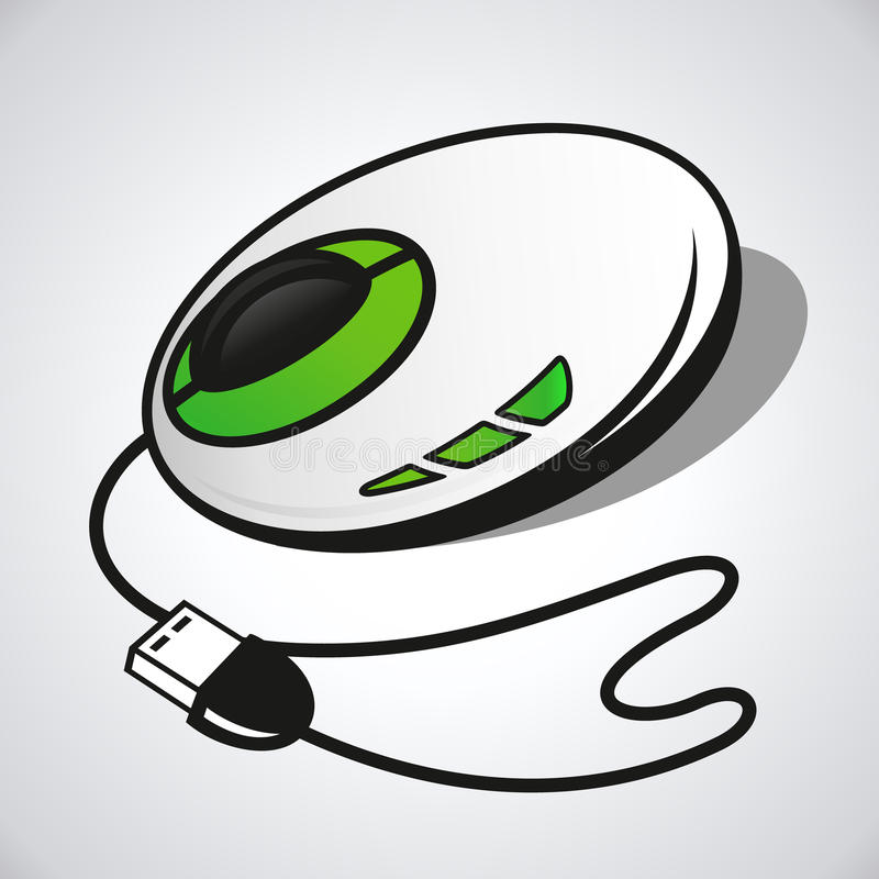 Download Ratón óptico del vector stock de ilustración. Ilustración de hardware - 42432786