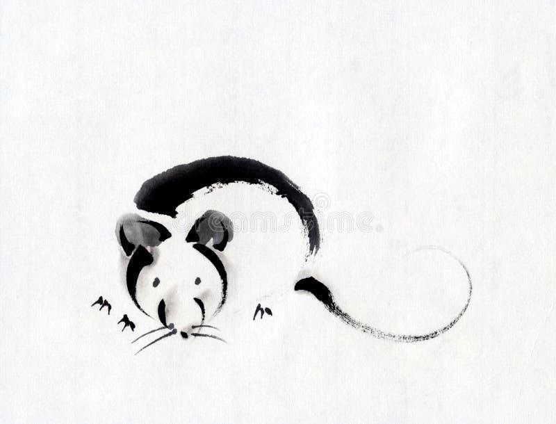 Ratón stock de ilustración