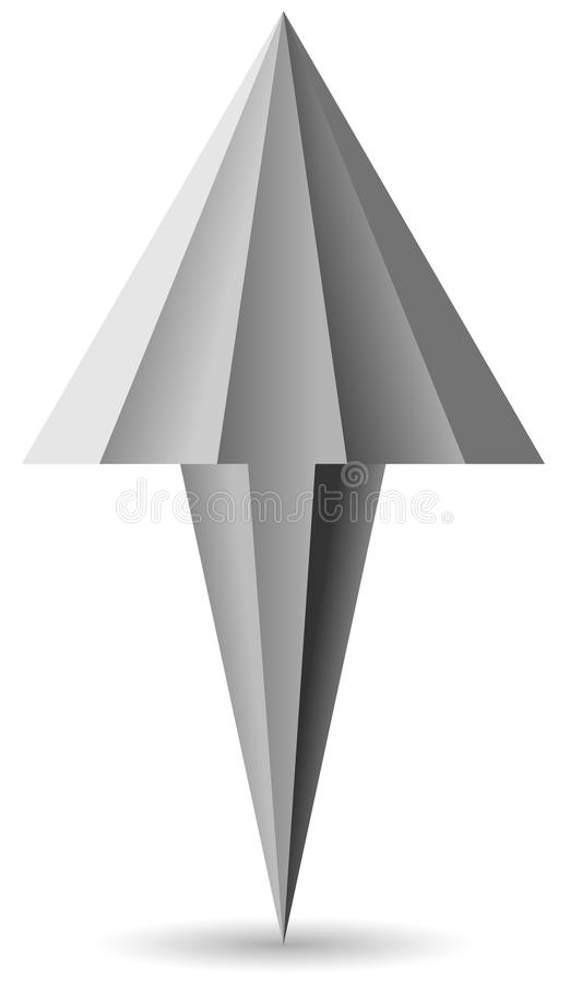 Ratón de la flecha del cursor - imagen común fotos de archivo