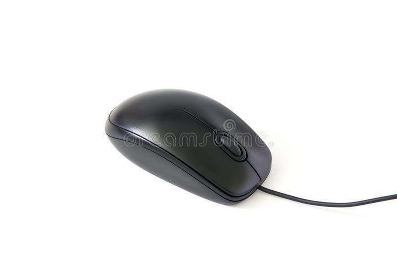 Ratón del ordenador en el fondo blanco imagen de archivo libre de regalías