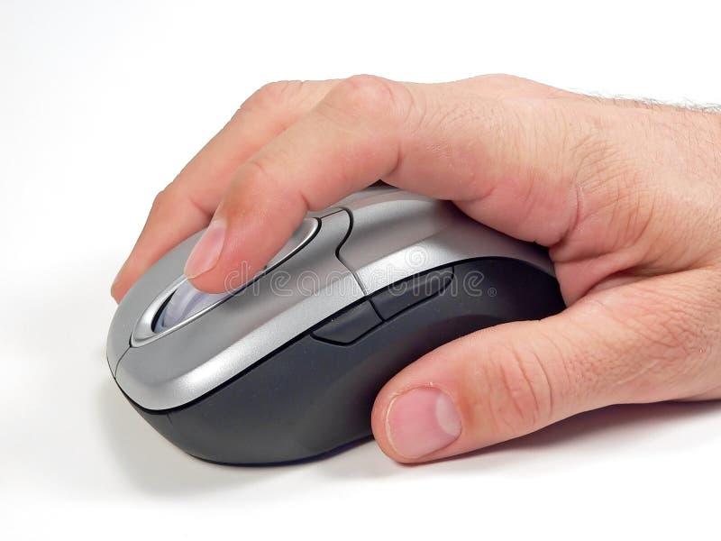Ratón sin hilos del ordenador fotos de archivo libres de regalías