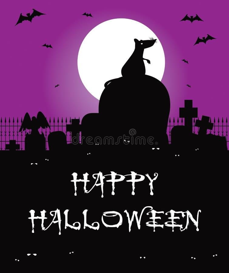 Download Rat stock illustration. Illustration of graveyard, evil - 11061050