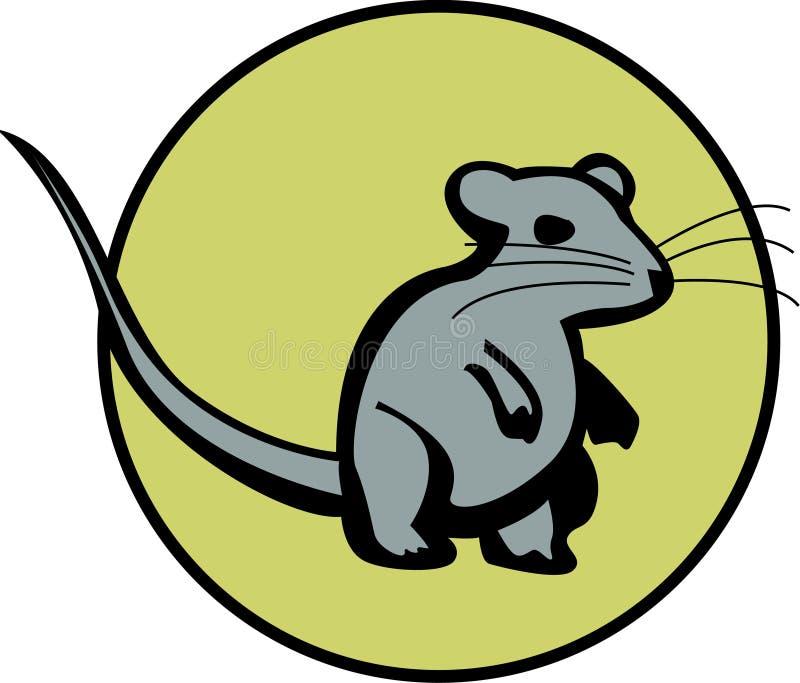 Rat illustration de vecteur