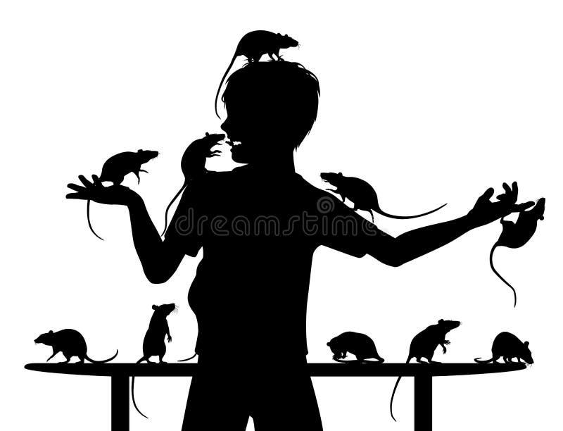 Download Rat boy stock vector. Illustration of play, child, vector - 30512737