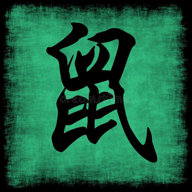 Rat Chinese Zodiac royalty free illustration