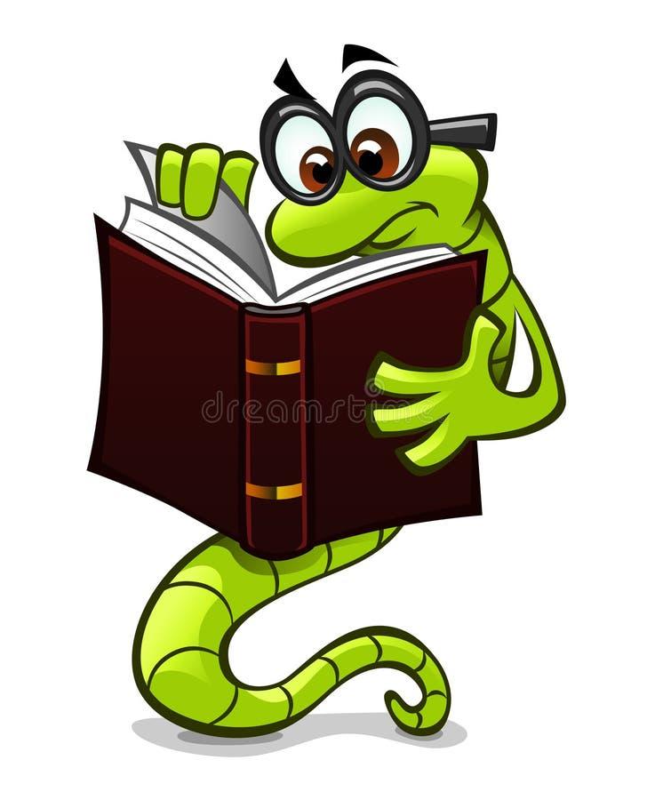 Rat de bibliothèque illustration de vecteur
