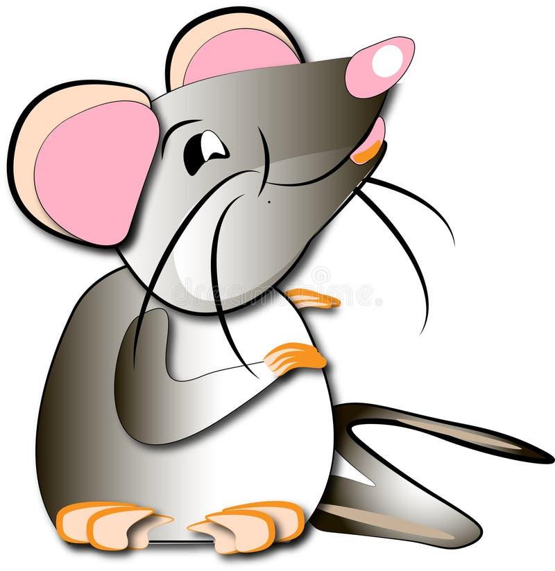 Rat drôle qui veut diner photo stock