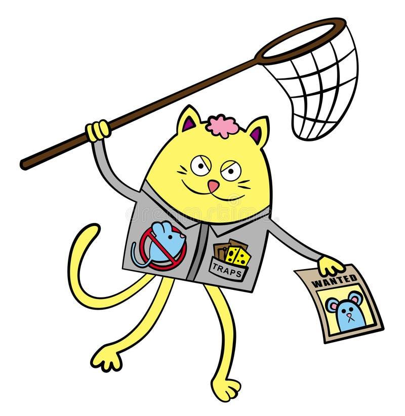 Download Rat exterminator stock illustration. Illustration of animal - 26202121