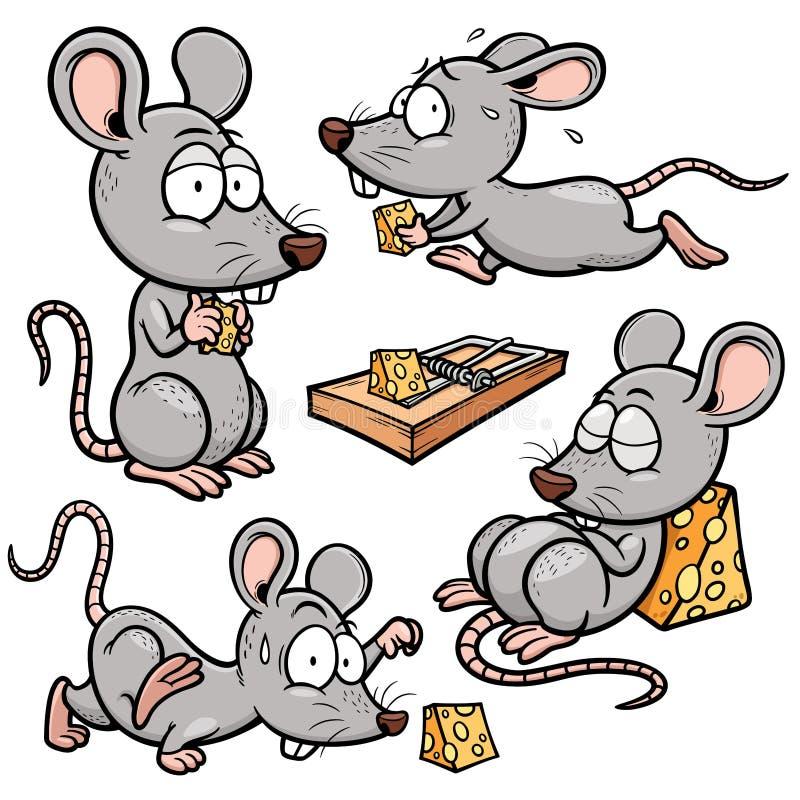 rata ilustración del vector